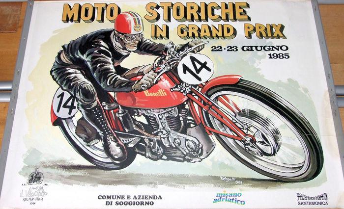 moto in corsa