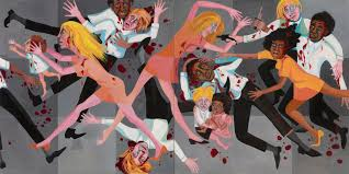 Faith Ringgold's American People Series 20 Die